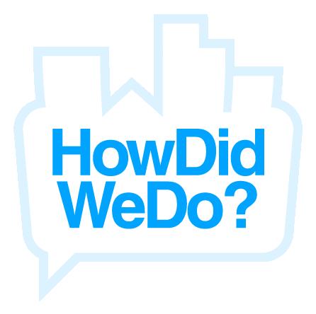 How Did We Do Logo
