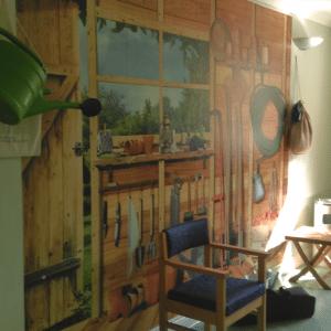 Acton Care Centre Garden Themed Room