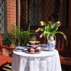 Heath Lodge Garden Tea