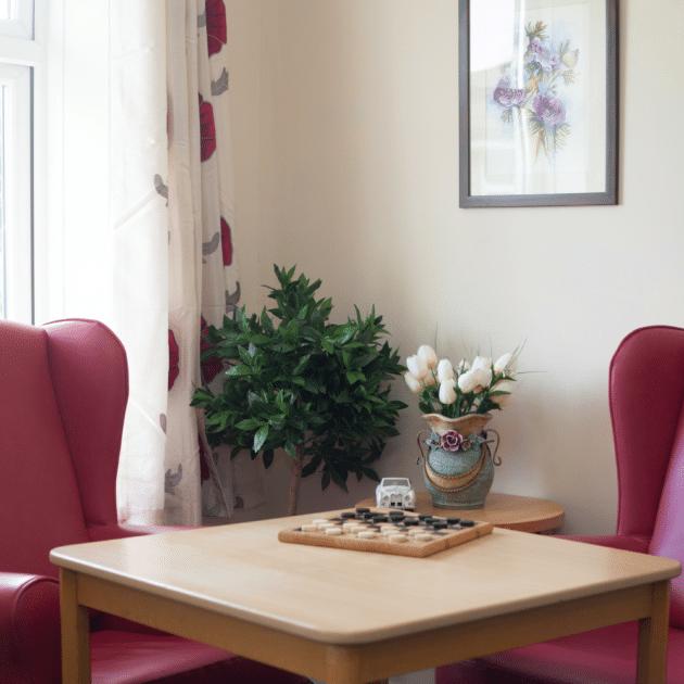 Lounge Area - Hillside Nursing Home Romford
